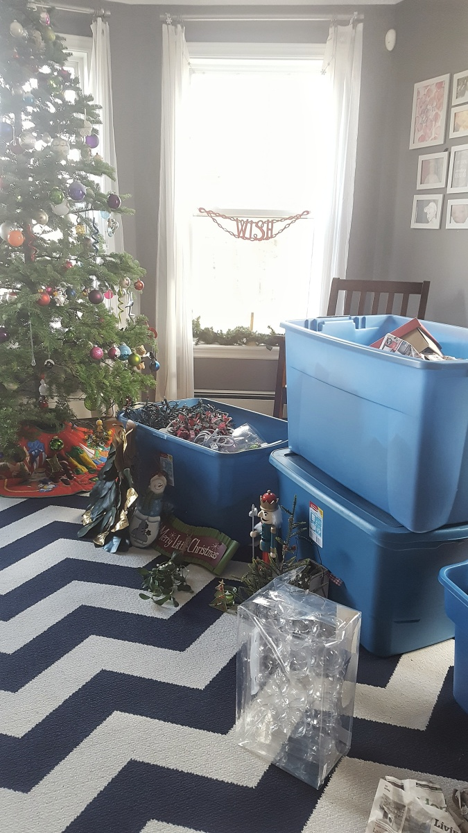 The Post-Holiday Christmas Purge!